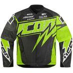 Green Hooligan Spaztyk Jersey Jacket - 2820-2959