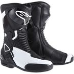 Womens Black/White Stella SMX-6 Vented Boot  - 22231141-22-37