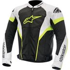 Black/White/Fluorescent Yellow T-GP Plus R Air Jacket  - 3300614-125-L