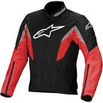 Black/Red/White Viper Air Textile Jacket - 3302713-132-L