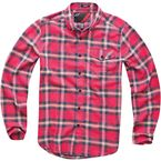 Red Vint Long Sleeve Shirt  - 101432003030L