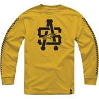 Gold Hell Track Long Sleeve Tee - 10147100159CL