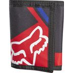 Black Intake Tri-Fold Wallet - 10103-001-NS