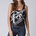 Womens Black Splinter Tank - 09864-001-L