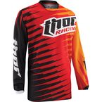 Red Phase Vented Rift Jersey - 2910-3194