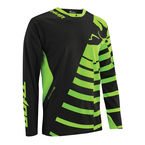 Black/Fluorescent Green Core Orbit Jersey - 2910-3200