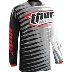 Youth Gray Phase Vented Rift Jersey - 2912-1235