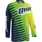 Youth Lime Phase Vented Rift Jersey - 2912-1236