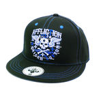Black Creeps Snapback Hat - AH5152-BK