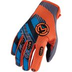 Blue/Orange Sahara Gloves - 3330-2945