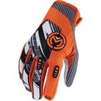 Orange/Black Sahara Gloves - 3330-2957
