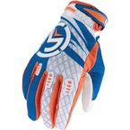 Blue/Orange M1 Gloves - 3330-3043