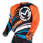 Youth Black/Blue/Orange M1 Jersey - 2912-1250