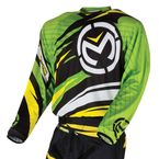 Youth Green/Yellow M1 Jersey - 2912-1264