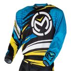 Black/Blue/Yellow M1 Jersey - 2910-3282