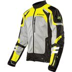 Gray/Black/Hi-Vis Yellow Induction Jacket - 5060-000-130-500