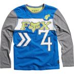 Kids Blue Crowd Pleaser Long Sleeve T-Shirt - 11308-002-L