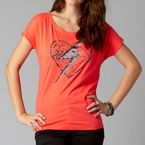 Womens Wild Cherry Sassy Wedge T-Shirt - 11254-153-M