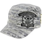 Grey Call To Arms Military Hat - 87-3024