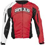 Red Top Dead Center Textile Jacket - 87-7223