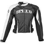 Womens Black Throttle Body Textile Jacket - 87-7240
