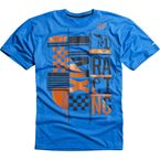 Blue KTM Konstruct Tech T-Shirt - 09446-002-XL