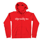 Womens Red Perfection Signature Zip Hoody - 6228-3403