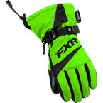 Childs Lime Helix Race Gloves