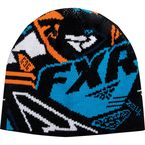 Orange/Blue Block Beanie