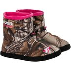 Womens Realtree Camo Slip-On Booties - 14842