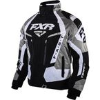 Black/White/Titanium Team FX Jacket - 15100.10107