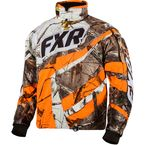 Real Tree/AP Blaze Orange Cold Cross Jacket - 15116