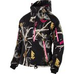 Womens AP Black Camo Fresh Jacket - 15210