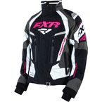 Womens Black/White Adrenaline Jacket - 15205