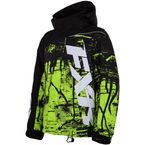 Youth Black/Lime Fury Boost Jacket - 15310