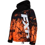 Youth Black/Orange Fury Boost Jacket