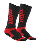 Black/Red MX Socks - 3431-0218