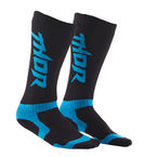 Youth Black/Blue MX Socks - 3431-0219