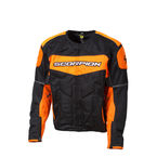 Black/Orange Eddy Jacket - 12454-5