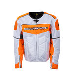 White/Orange Eddy Jacket - 12482-7