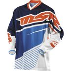 White/Blue/Orange Max Air Jersey - 352069