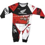 Infant Red/Black/White 1-Piece Honda Pajamas - 1216-102