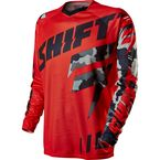 MX Red Faction Camo Jersey  - 11454-003-M