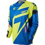 MX Blue Faction Mainline Jersey  - 11411-002-S