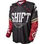 MX Black/Red Recon Jersey - 11436-017-L
