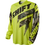 MX Yellow Camo Recon Jersey - 11434-220-M