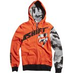Red Suppressor Zip-Hoody - 13644-003-L