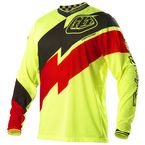 Fluorescent Yellow/Red/Black GP Air Astro Jersey  - 0725-1509