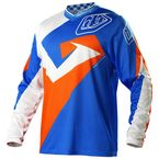 Youth Blue/Orange/White GP Air Vega Jersey - 0735-2306
