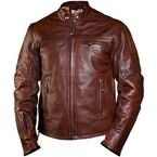 Tobacco Ronin Leather Jacket - 0801-0200-0153